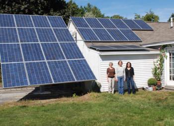 Susan Jackson, Elizabeth LeBlanc, Lourdes Requena, Harvard Art Solar Installation