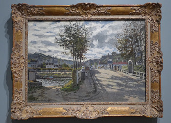 Claude Monet's The Siene at Bougival