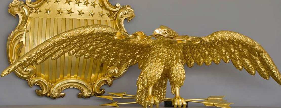 Eagle & Shield, Old Senate Chamber, Unites States Senate